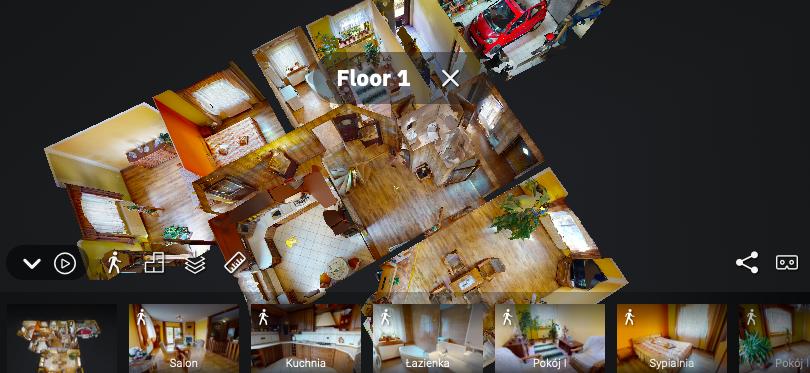 wirtualny spacer 3D